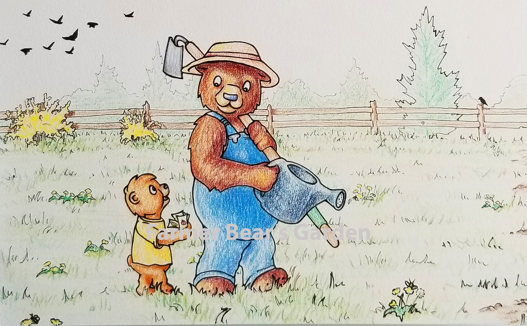 Farmer Bear's Garden